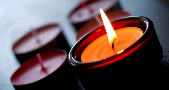 Homepage Candle Image